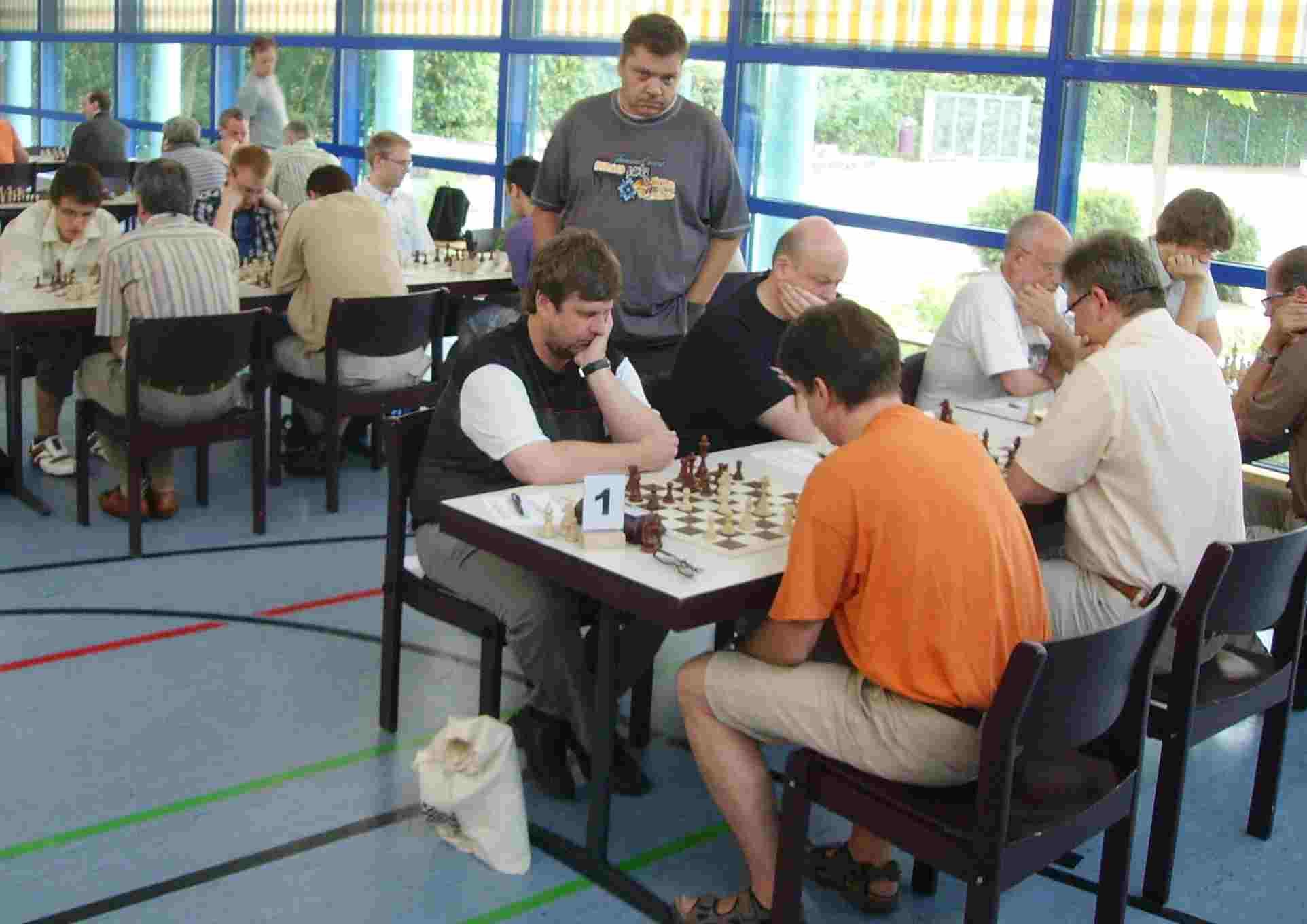 UL-Pokal: Tisch 1
